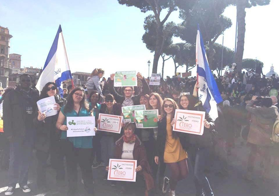 Young people mobilised in Rome for climate change