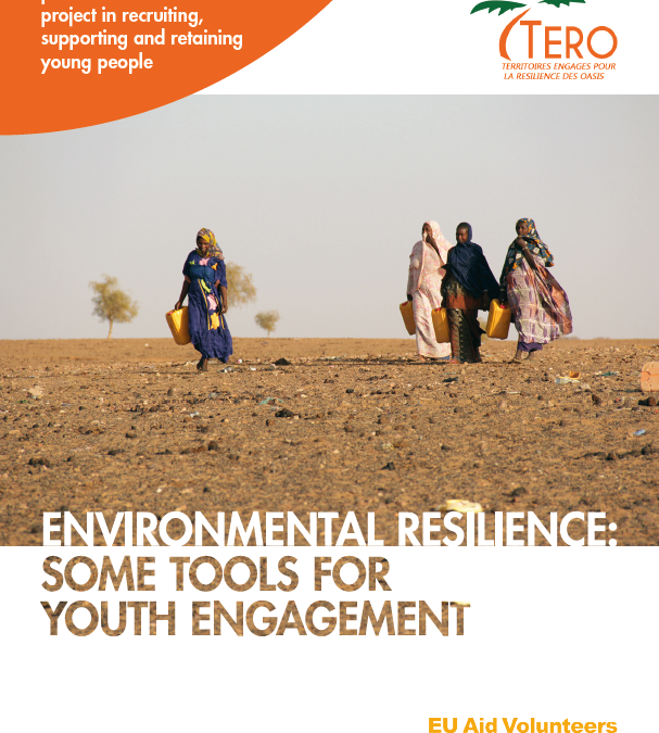 "The Guide ""Ecological resilience: tools for youth engagement"" is now available!"
