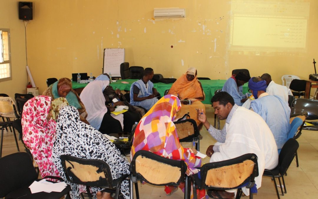 Workshop on the prevention of climate change risks in Mauritania