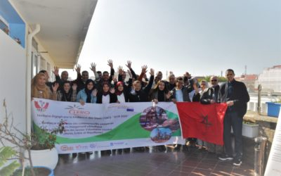 Let's celebrate the results and the climate commitment of young people in Rabat